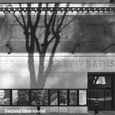 IRONMONGER ROW BATHS FOR TIM RONALDS | Morley von Sternberg
